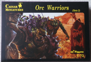 Caesar Miniatures 1/72 CMF109 Orc Warriors Set 2 (Fantasy)